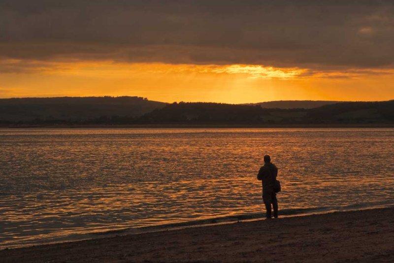 Exmouth Beach Sunset