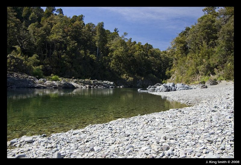 Gorge river bed