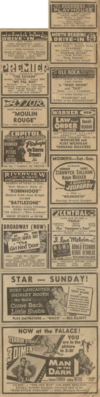 Ads for June 13, 1953