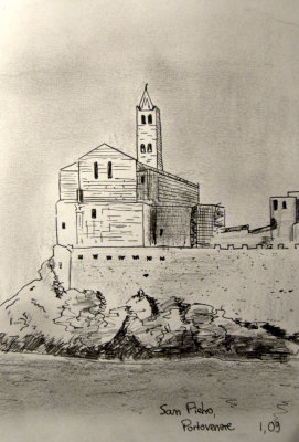 San Pietro at Portovenere - 25 January 2009