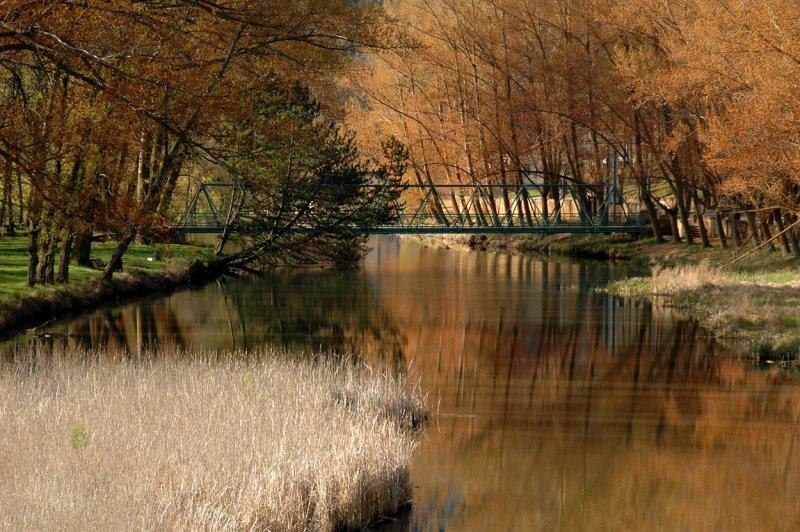 Duero River From the Medieval Bridge - Soria