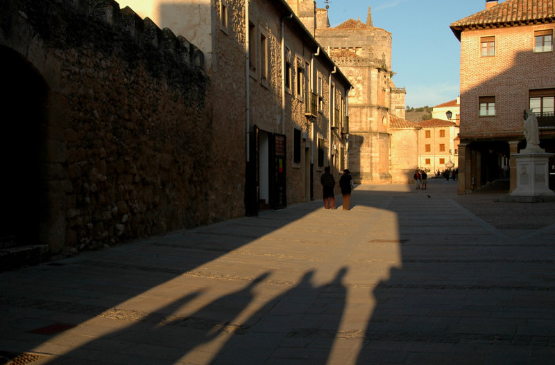 At dusk - Burgo de Osma