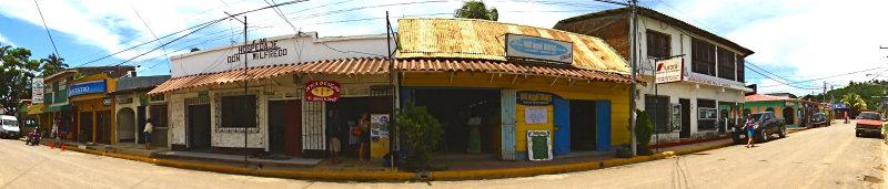 Bancentro, Hospedaje Wilfredo, Nica Designs, Big Wave Daves, Aurora Realty in San Juan del Sur, Niaragua