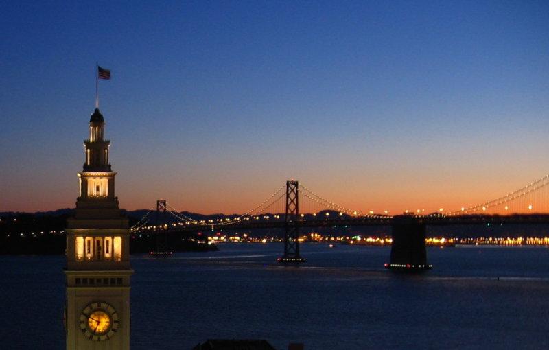 Morning Light meets City Lights