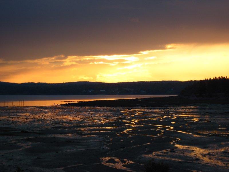 Sunset at Niger Reef #878