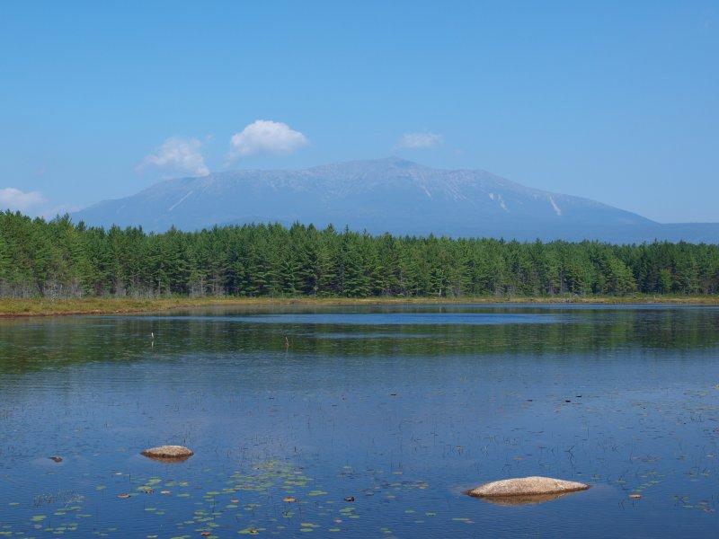 Katahdin from Sunday Pond #P9012382