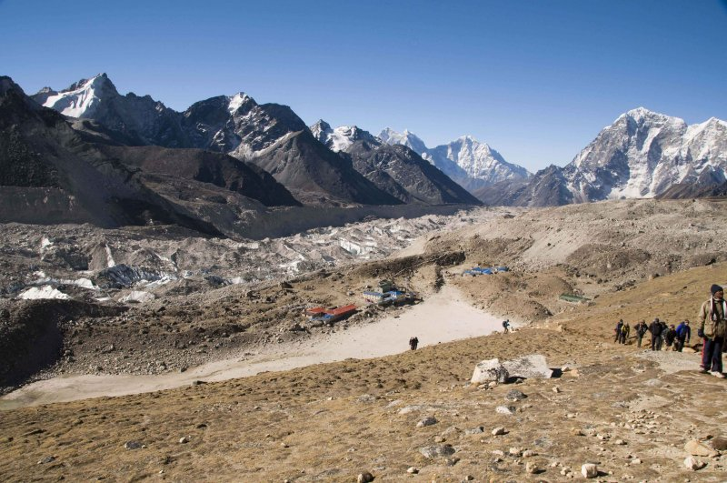 Gorakshep and Khumbu Glacier Moraine