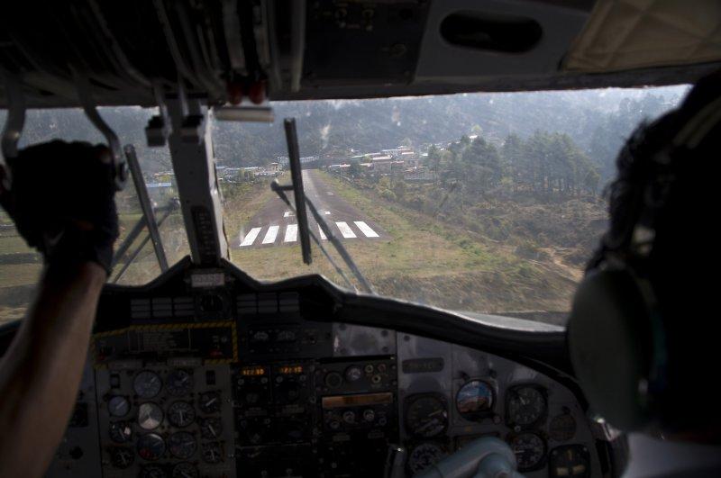 A pilots view