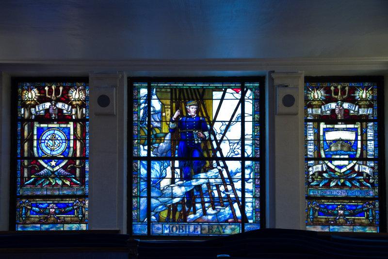 Stained Glass Window, U.S. Naval Academy Chapel