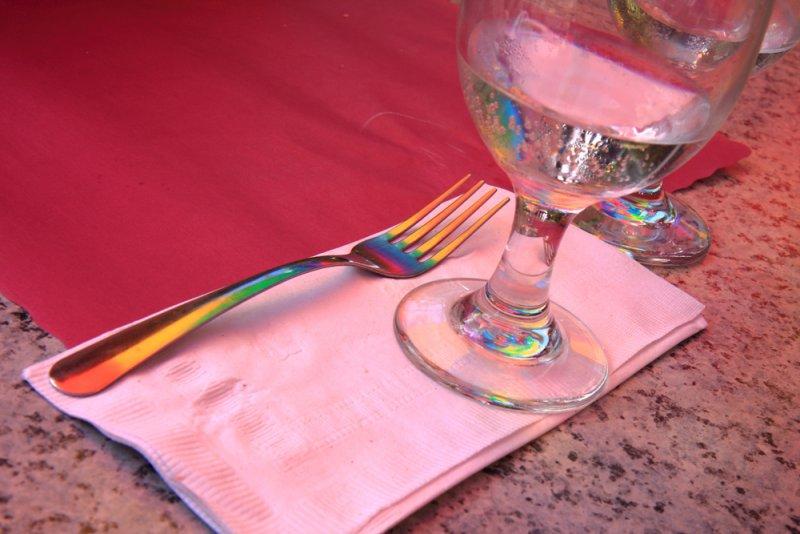 Table Rainbow