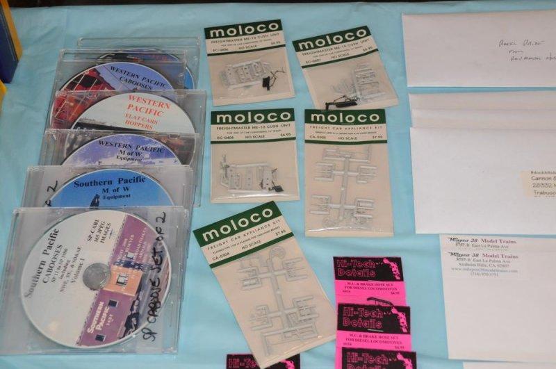 Raffle Prizes - Pete Arnold, &  Moloco
