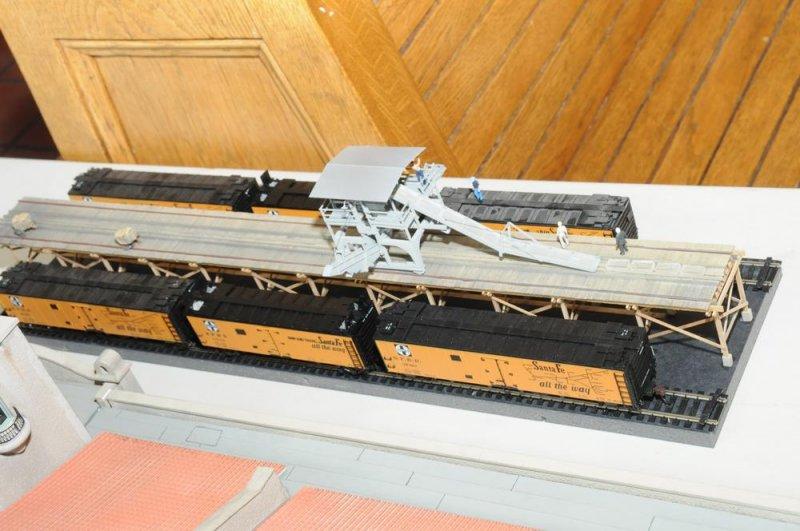 Santa Fe Ice Platform by Gary Cane