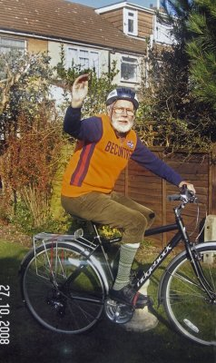 Derek Jennings, since 1947 member of The Becontree Wheelers