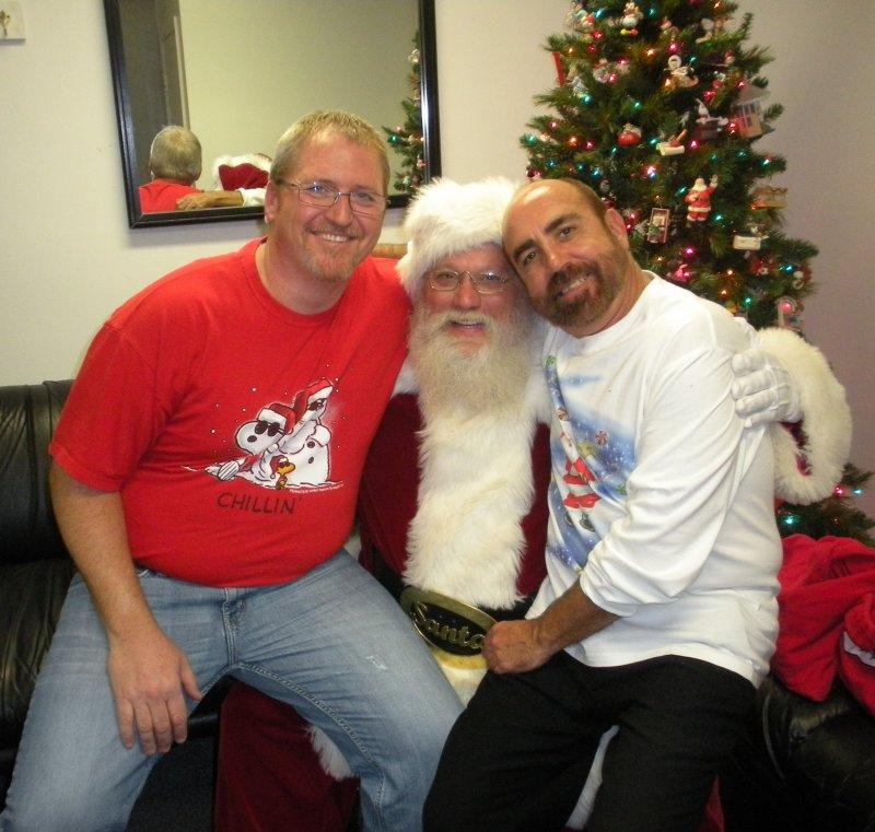 David, Santa & Jeff 2010
