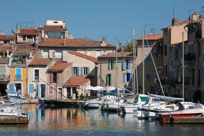 La ville de Martigues
