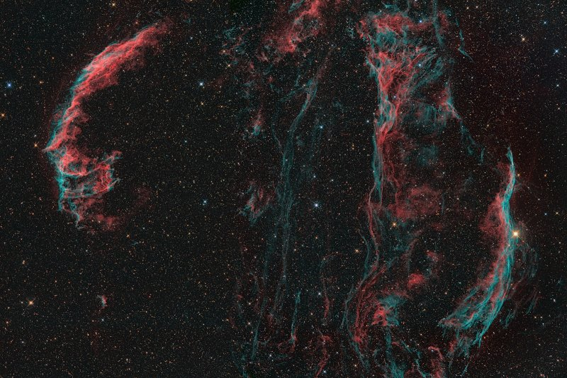Veil Nebula in Cygnus
