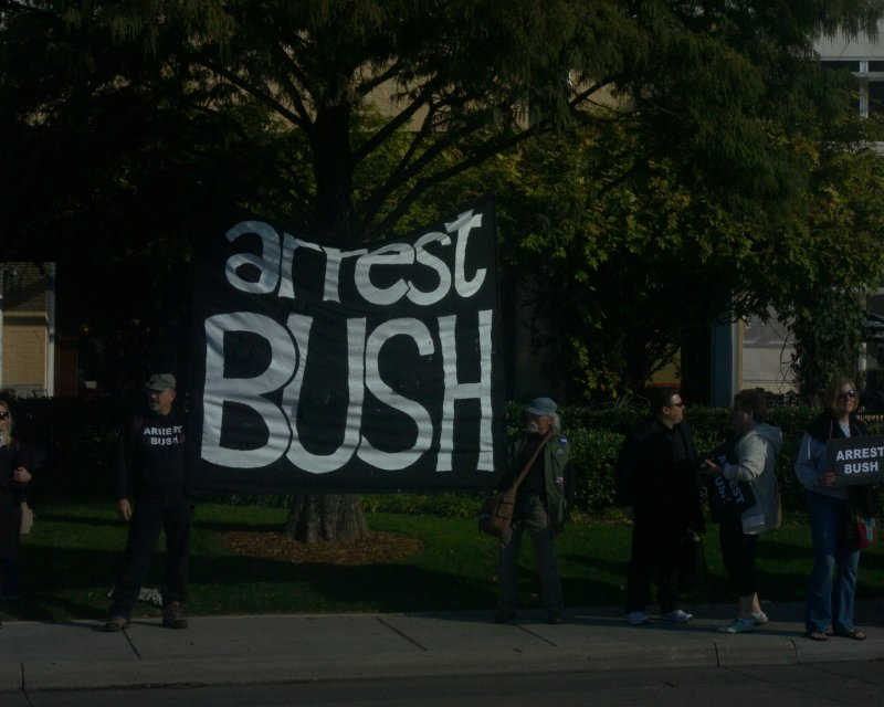 Bush Library Groundbreaking Protest 11-16-10 045.JPG