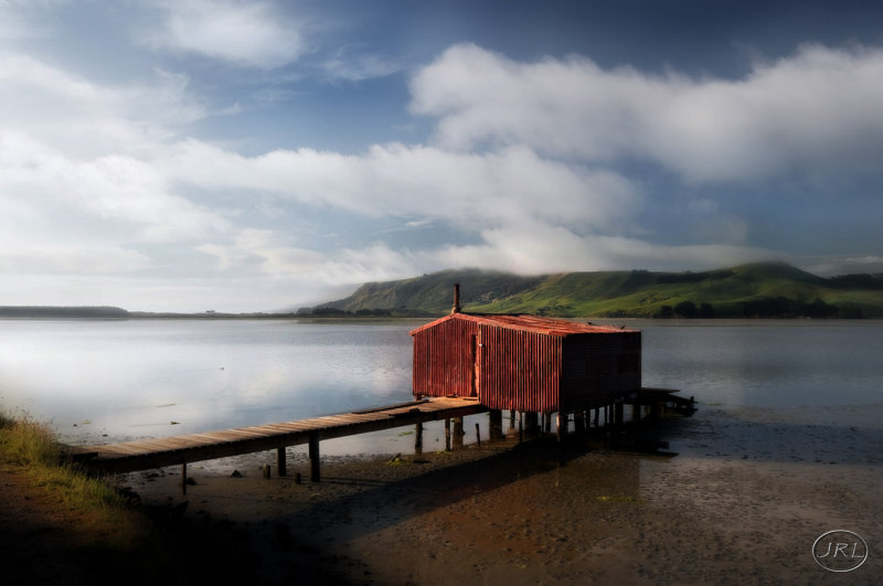 The Rusty Boat Shed.