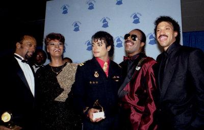 Michael  Jackson 1986 Grammy Awards