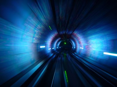 Inside the Bund Tunnel 1