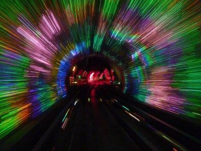 Inside the Bund Tunnel 2