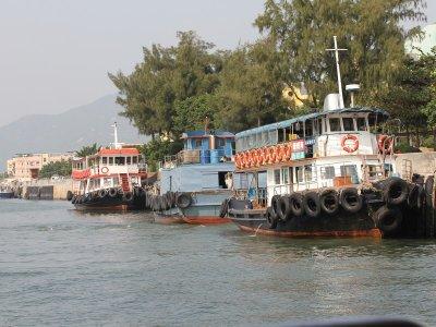 Ferries at Peng Chau