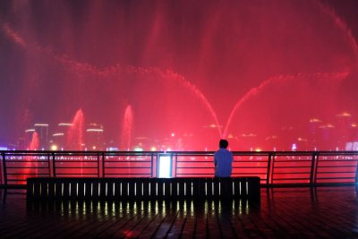 The Myth of Love, Shanghai Expo. Music Fountain, Shanghai, China, 2010