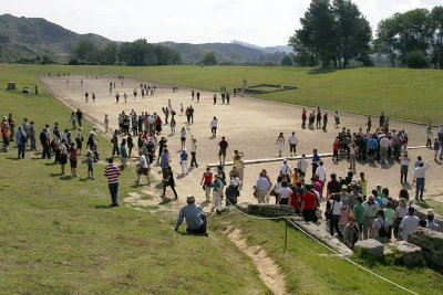 Olympia -  Stadium at Olympia first games 776 BC copy.jpg