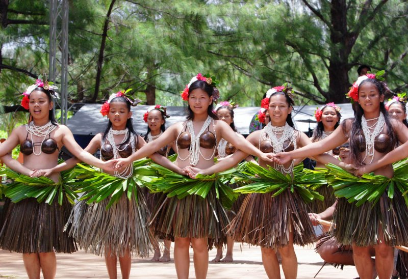 Flame Tree Dancers