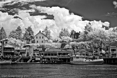 Riverfront in IR