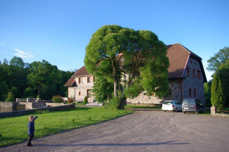 Mazsalijas country house near Kuldiga