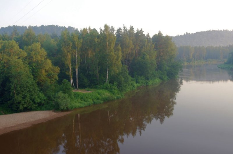 Gauja in Sigulda