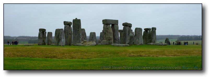 Stonehenge : Sarsen Stones