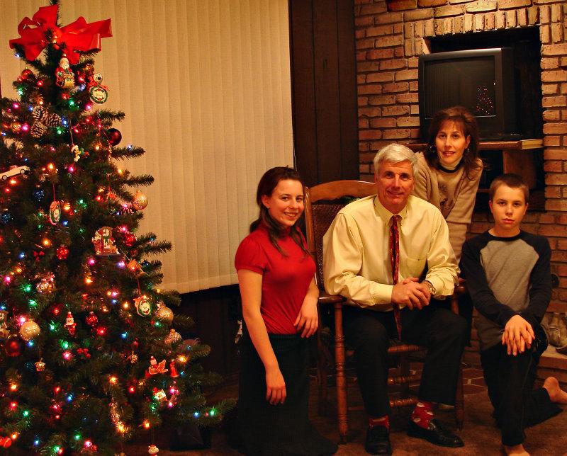 Bob & Lou Rust Family Christmas 08