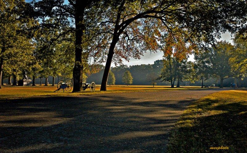 October, Shiloh Battlefield