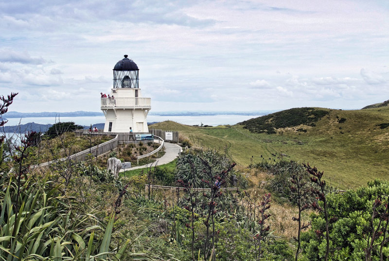 Lighthouse, Manukau Heads, Awhitu Peninsular