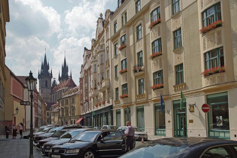 Praha streets