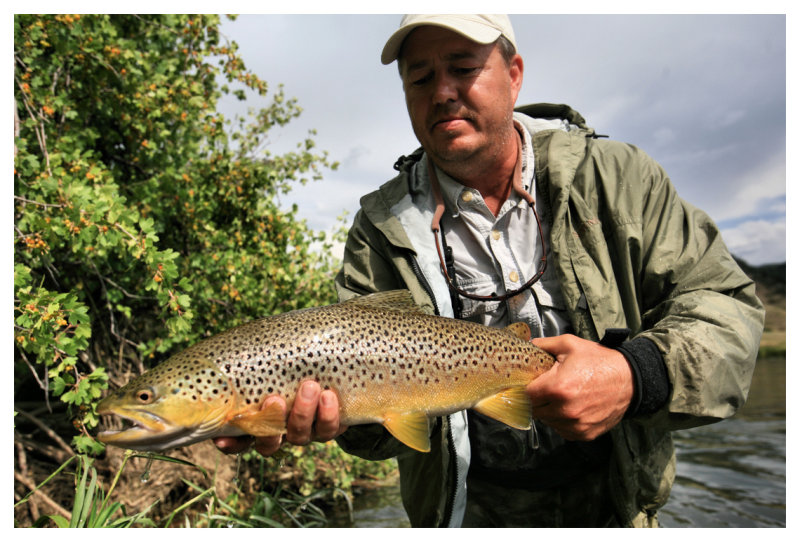Frank and Missouri River Dry Flied Brown