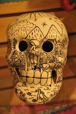 Painted Calavera