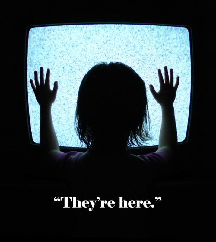 they re here poltergeist photo panasonic lumix fz30 fz50 rh pbase com they're here to save the world they're here meme