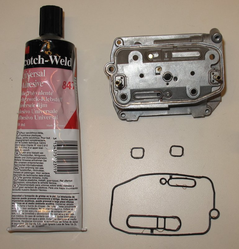 3M Scotch Weld 847 KTM Recommended Product to Seal the Mid-Body Gasket