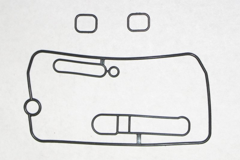 FCR Mid-Body Gasket Set #JDKH17 (1 of the 2 large gaskets included is shown)