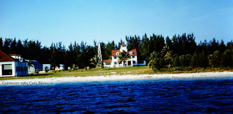 Early 1963 - Coast Guard Station Lake Worth Inlet, Peanut Island, Florida