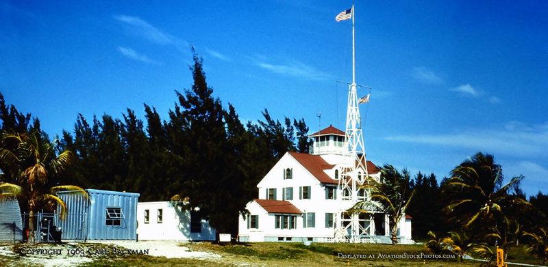 Early 1963 - Coast Guard Station Lake Worth Inlet on Peanut Island (description below)