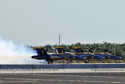 The Blue Angels at Wings Over Homestead practice air show at Homestead Air Reserve Base aviation stock photo #6235