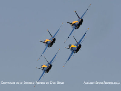 The Blue Angels at Wings Over Homestead practice air show at Homestead Air Reserve Base aviation stock photo #6246