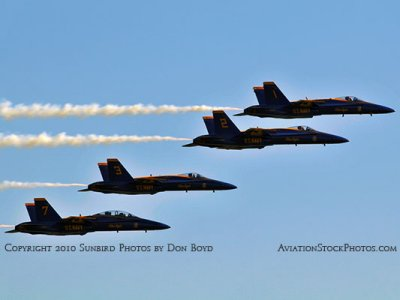 The Blue Angels at Wings Over Homestead practice air show at Homestead Air Reserve Base aviation stock photo #6249