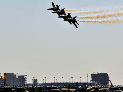The Blue Angels at Wings Over Homestead practice air show at Homestead Air Reserve Base aviation stock photo #6268