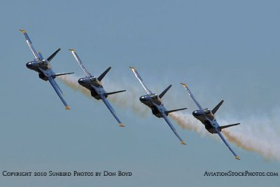 The Blue Angels at Wings Over Homestead practice air show at Homestead Air Reserve Base aviation stock photo #6272