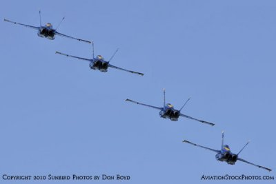 The Blue Angels at Wings Over Homestead practice air show at Homestead Air Reserve Base aviation stock photo #6277